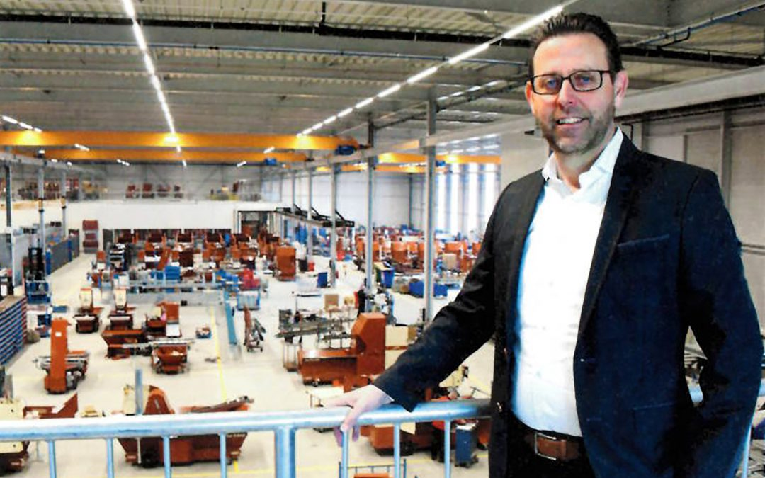 Koos de Vink, Managing director bij Nobels Group in Noordwijkerhout